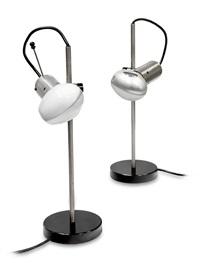 255 coppia di lampade da tavolo by tito agnoli