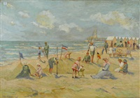 plage by albert rigaux