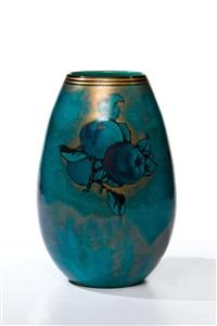 vase mit äpfeln by clement massier