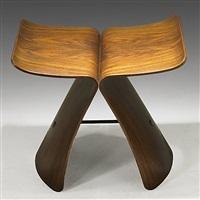 butterfly stool by sori yanagi