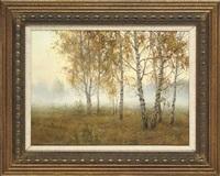 a misty morning by igor smirnov