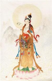 观音 by liu cangyuan