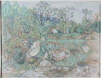 paesaggio ligure by oscar saccorotti