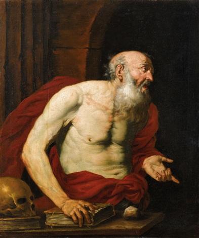 der heilige hieronymus by giovanni battista langetti