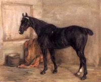a hunter in his stable by robert l. alexander