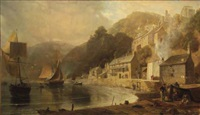 clovelly, north devon by william (of plymouth) williams