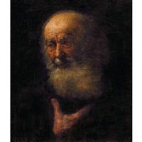 porträt eines bärtigen mannes by anonymous-german (18)