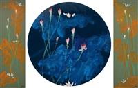 流动·生命 (flow; life) (3 works) by xu kuangda