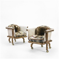 endangered species chairs (pair) by joel otterson