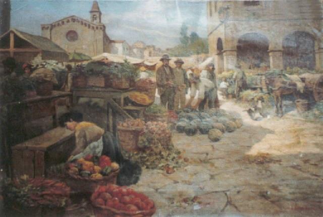 montepulciano nel giorno di mercato by anacleto nino della gatta