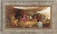 in the market, jodhpur by grenville cottingham