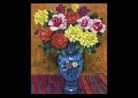Roses In The Spanish Vase By Kenkichi Kodera On Artnet