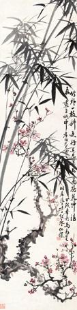 梅竹双清 by ma wanli