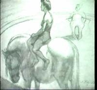 zirkusreiterin. by martha hofrichter