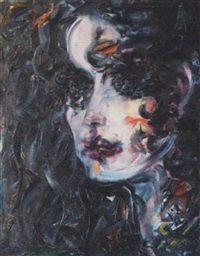 portrait lorika by nicolai wologschanin
