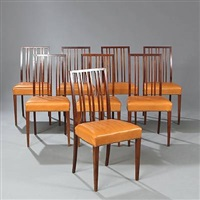 dining chairs (set of 9) by kaj gottlob