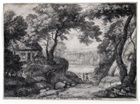 ansicht von linkenbeek by andries jacobsz stock
