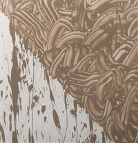 river avon mud painting by richard long