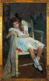 girl in white by hovsep pushman