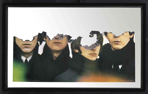 self portrait of you me beatles by douglas gordon