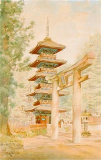japanische pagode by masana kawakubo
