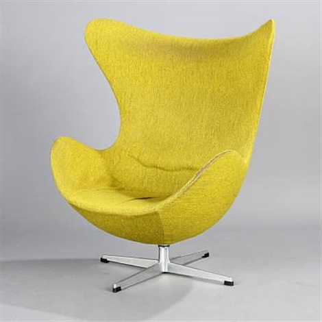 the egg easy chair model 3315 by arne jacobsen