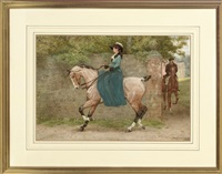 a dainty canter by g.w. smetham-jones