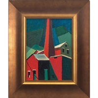 abstract buildings by rosalind abramson