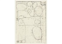 #5 from six softground etchings by richard diebenkorn