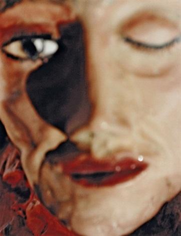 la rosa blanca from portfolio mit 13 farbfotografien by urs fischer
