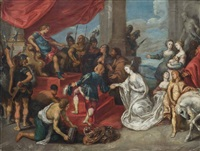 the continence of scipio by simon de vos