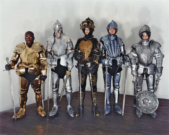 knights by olaf breuning