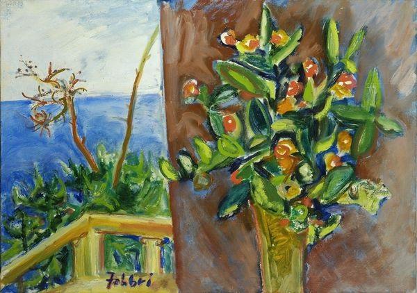 fiori sul balcone by alfredo fabbri
