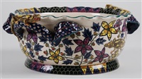 bowl (decorated by wonderboy nxumalo) by ardmore ceramics