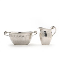 creamer and candy bowl by just andersen