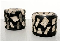untitled - tire chairs (2 works) by nari ward