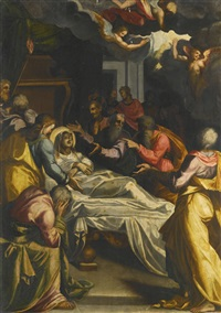 the dormition of the virgin by italian school (16)