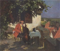 der cellospieler by wilhelm roegge the younger