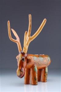 stehender elch by lothar sell