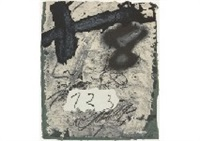 work by antoni tàpies