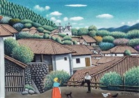Village Scene, 1963