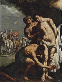 the martyrdom of st. sebastian by italian school-northern (17)