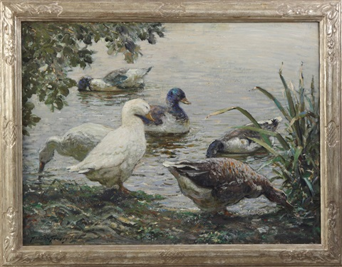 the duck pond by abbott fuller graves