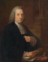 bildnis des irischen juristen und politikers philip tisdall sl (1703-1777) by angelika kauffmann