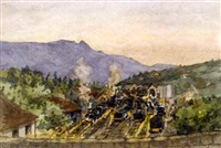 gare du chambéry - train station at chambéry (+ 74 others; 75 works) by paul louis renaud
