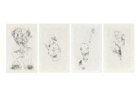 visages portfolio of 4 by wols