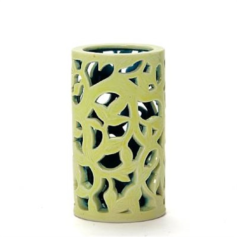 cylinder shaped vase by axel johann salto