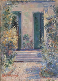 view of a doorway by anne wells munger