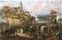 gefecht bei souffelweyersheim by johanes baptiste pflug