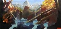 höllental (triptych) by matthias gangkofner